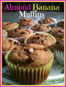 Almond Banana Muffins 2