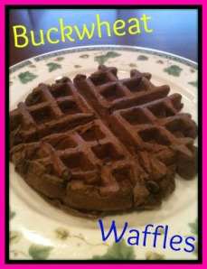 Buckwheat Waffle