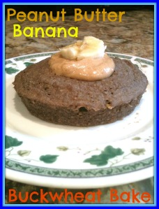 PB Banana Buckwheat Bake