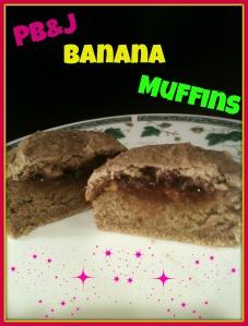 PBJ Banana Muffins