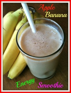 Apple Banana Energy Smoothie 2
