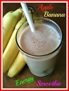 Apple Banana Energy Smoothie 2