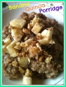 Banana Quinoa Porridge 3