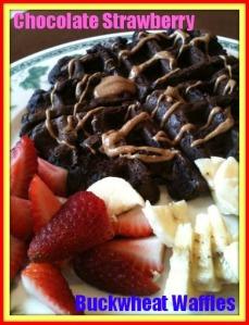 Chocolate Strawberry Waffle 2