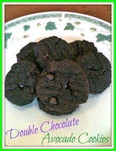 Double Chocolate Avocado Cookies 2