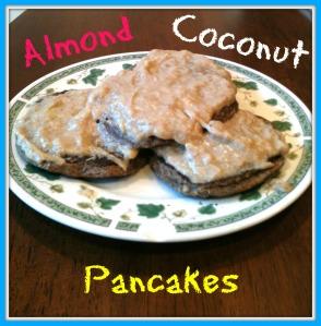 Almond Coconut Pancakes 2