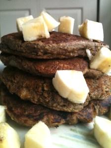 Banana Buckwheat Pancakes 2