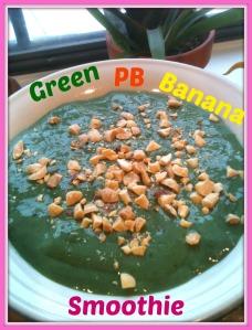 Green PB Banana Smoothie 2
