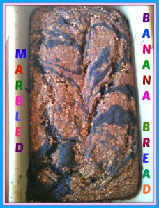 Marbled Banana Bread 2