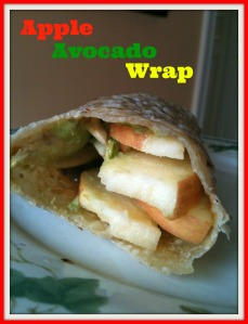 Apple Avocado Wrap 2