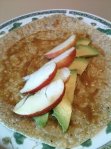 Apple Avocado Wrap 4