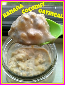 Banana Coconut Oatmeal 2