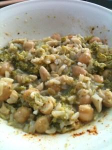 Coconut Chickpea Rice 2