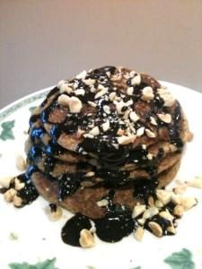 PB Cookie Pancakes
