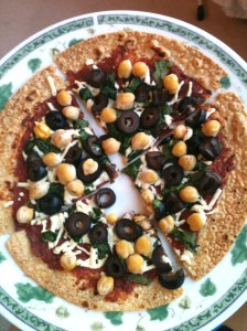 Tortilla Pizza 3