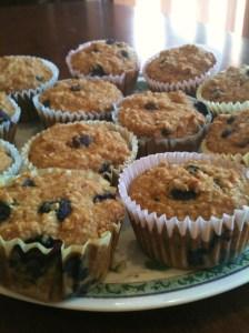 Blueberry Cornbread Muffins 3