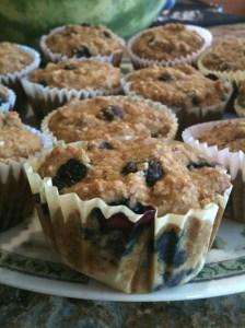 Blueberry Cornbread Muffins 4