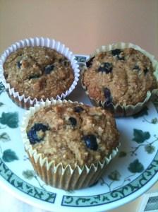 Blueberry Cornbread Muffins 5
