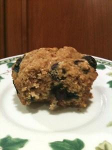 Blueberry Cornbread Muffins 6