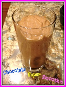 Chocolate Super Smoothie