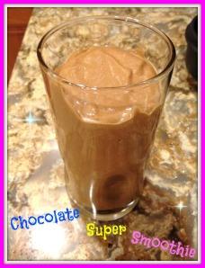 Chocolate Super Smoothie