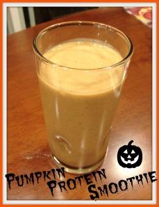 Pumpkin Protein Smoothie 2