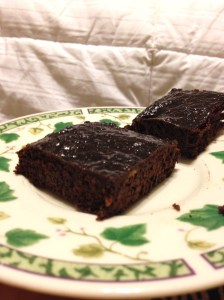 Plantain Brownies 3