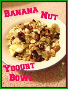 Banana Nut Yogurt Bowl 2