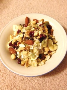 Banana Nut Yogurt Bowl
