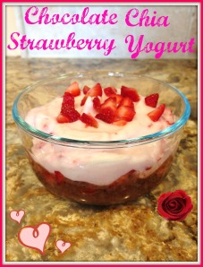 Chocolate Chia Strawberry Yogurt 2