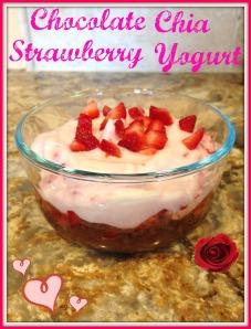 Chocolate Chia Strawberry Yogurt 2