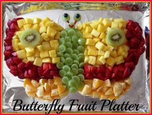 Butterfly Fruit Platter 2