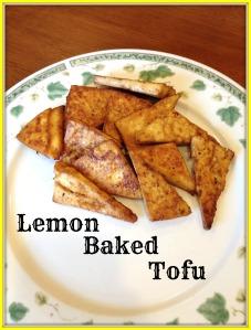Lemon Baked Tofu 2