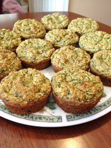 Green Monster Muffins 2