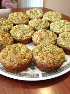 Green Monster Muffins 2
